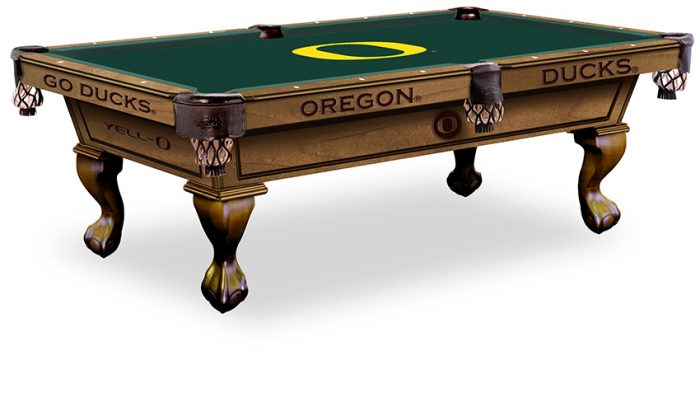 University of Oregon Pool Table ($3,999 - $4,599)