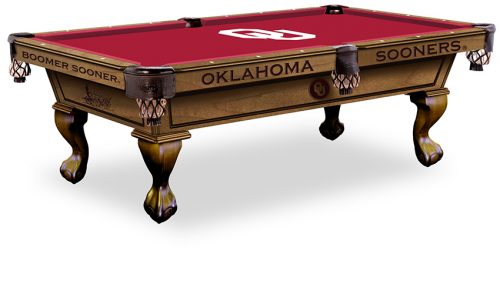 University of Oklahoma Pool Table ($3,999 - $4,599)