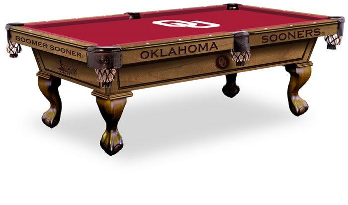 University of Oklahoma Pool Table ($3,999 - $4,599)
