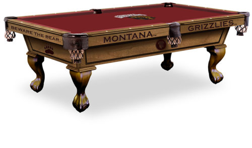 University of Montana Pool Table ($3,999 - $4,599)