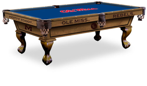 University of Mississippi Pool Table ($3,999 - $4,599)