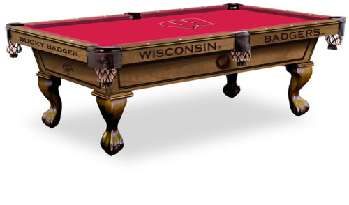 University of Wisconsin Pool Table ($3,999 - $4,599)