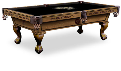 Wake Forest University Pool Table ($3,999 - $4,599)