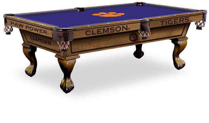 Clemson University Pool Table ($3,999 - $4,599)