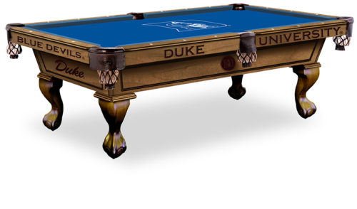 Duke University Pool Table ($3,999 - $4,599)