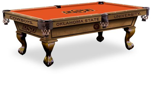 Oklahoma State University Pool Table ($3,999 - $4,599)