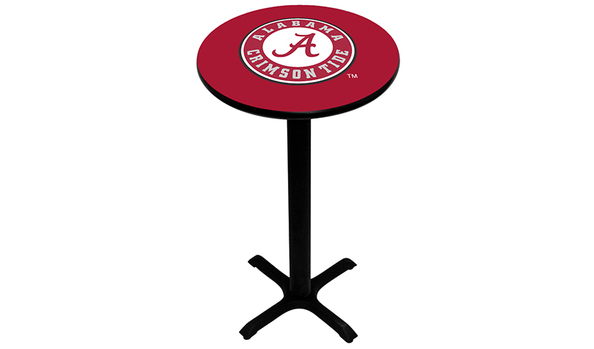 University of Alabama Pub Tables