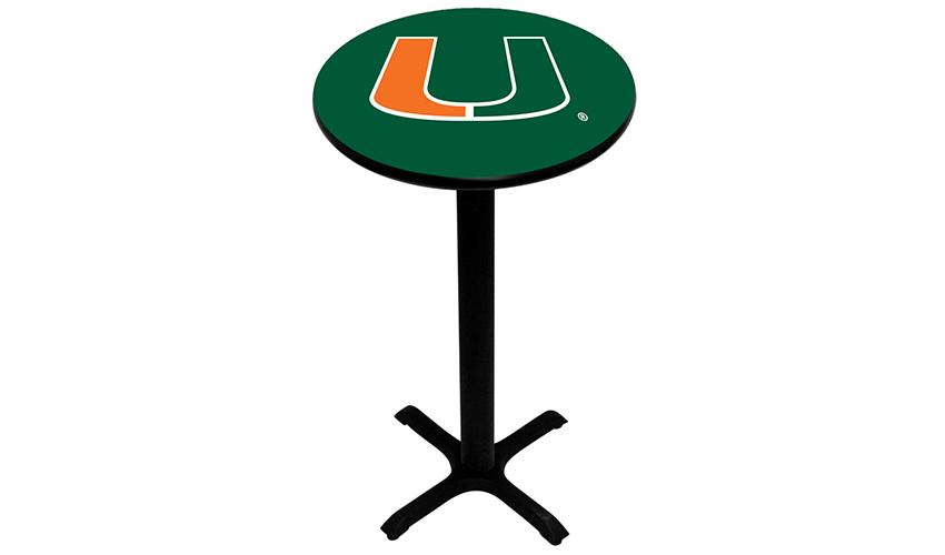 University of Miami Pub Tables