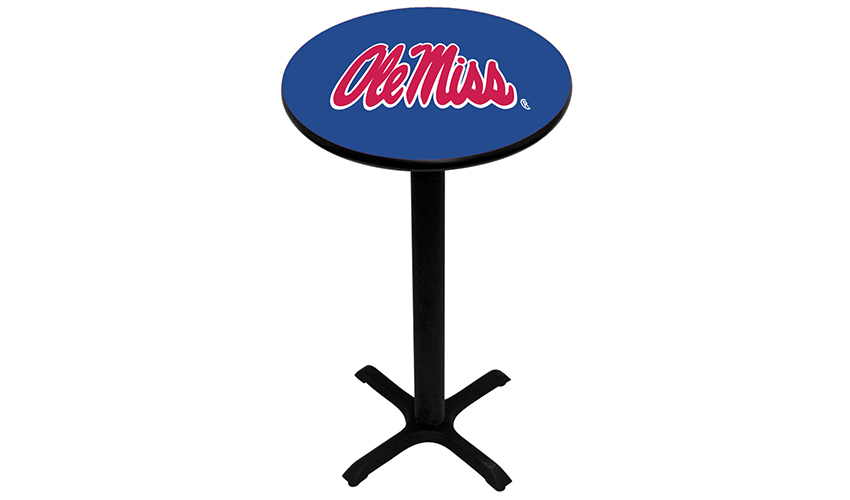University of Mississippi Pub Tables
