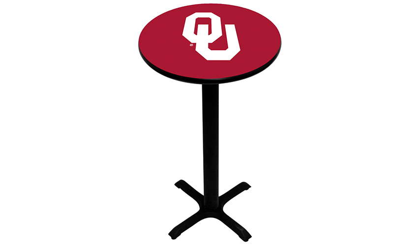 University of Oklahoma Pub Tables