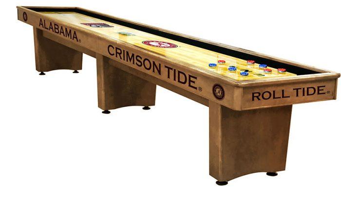 University of Alabama Shuffleboard ($3,999 - $7,099)
