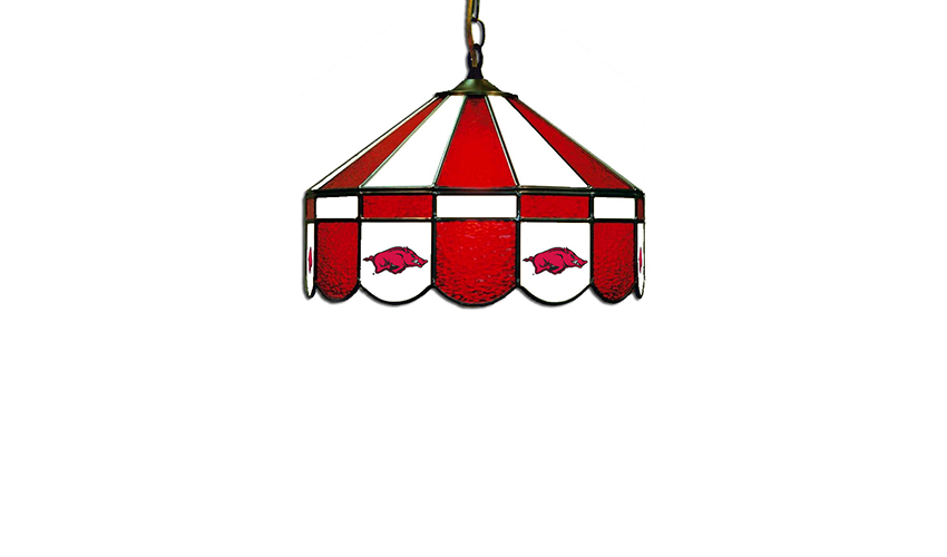 University of Arkansas Hanging Lamps