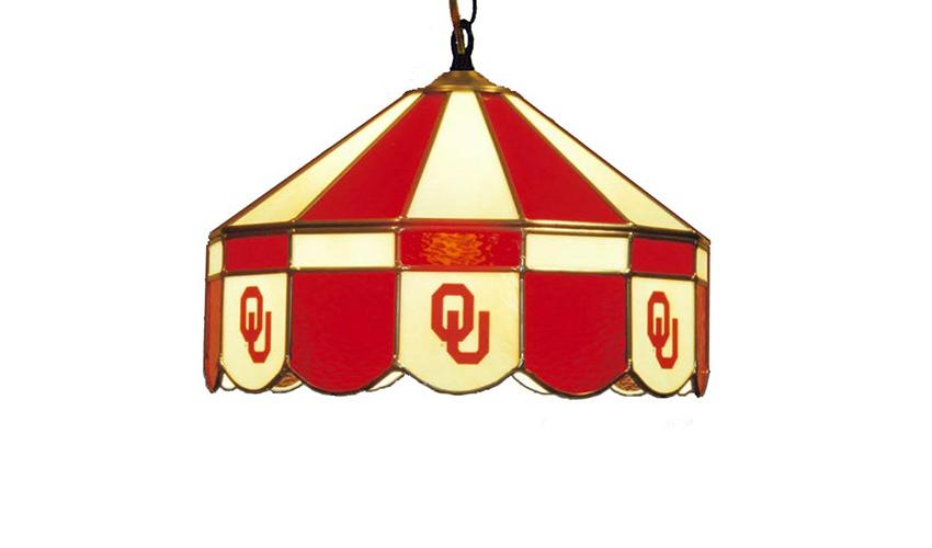 University of Oklahoma Hanging Lamps