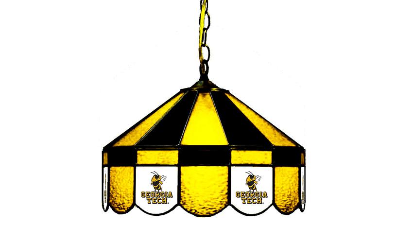 Georgia Tech Hanging Lamps