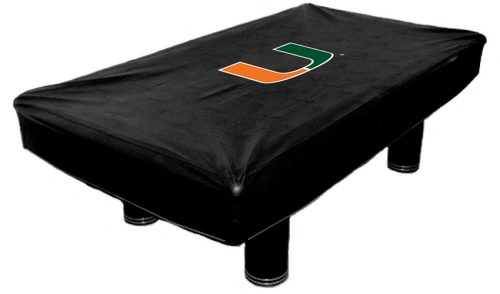 University of Miami Billiard Table Cover