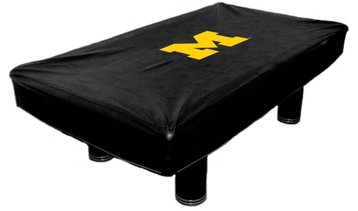 University of Michigan Billiard Table Cover