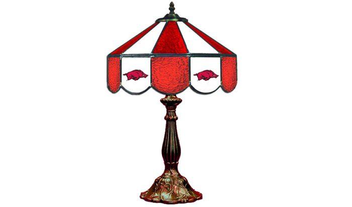 University of Arkansas Table Lamp