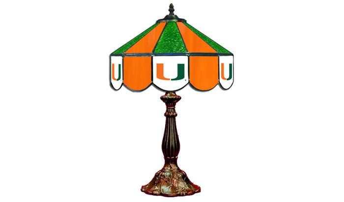 University of Miami Table Lamp