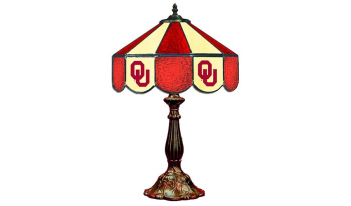 University of Oklahoma Table Lamp