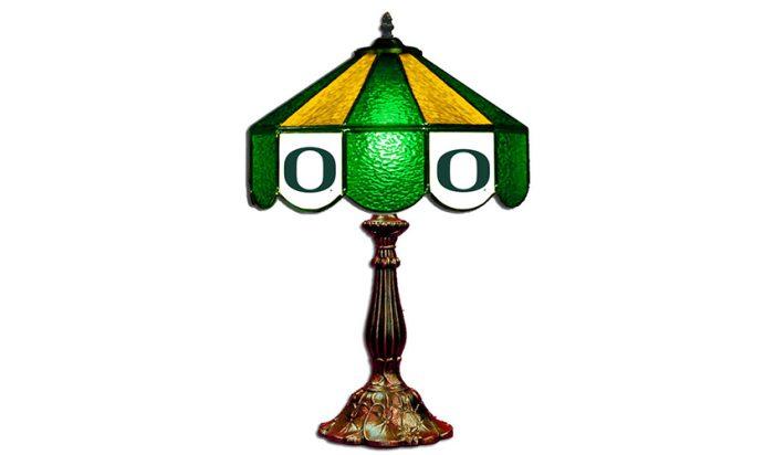 University of Oregon Table Lamp