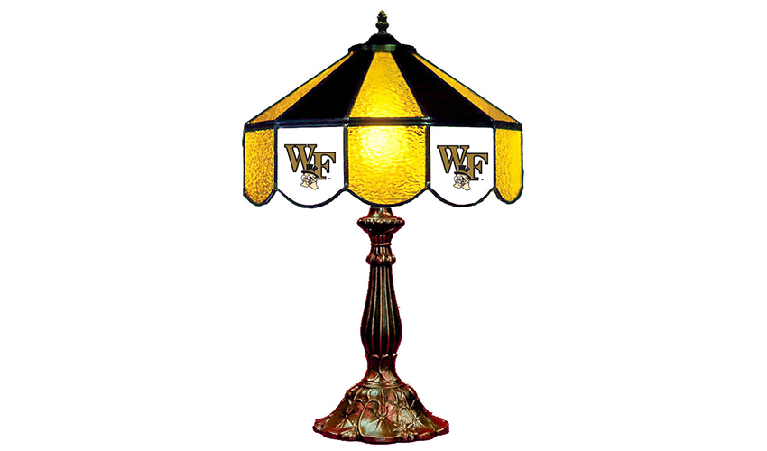 Wake Forest University Table Lamp Affinity Gamerooms