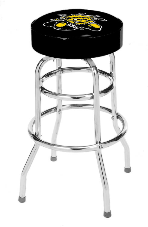 Wichita State University Bar Stool